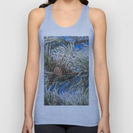 Christmas frost Unisex Tank Top