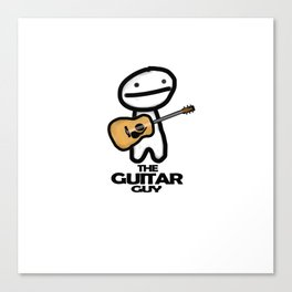 The Guitar Guy Canvas Print
