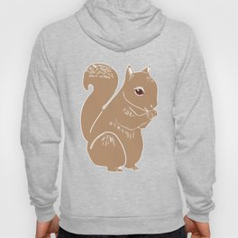 Light Brown Squirrel Hoody