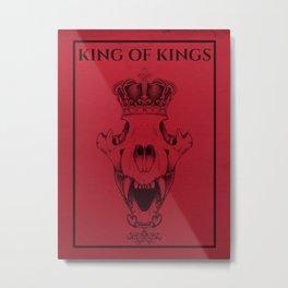 King of Kings Metal Print