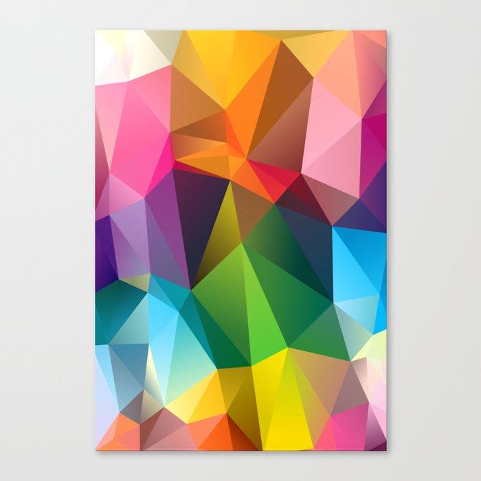Geometric view Canvas Print