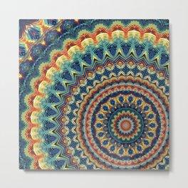 Mandala 215 Metal Print