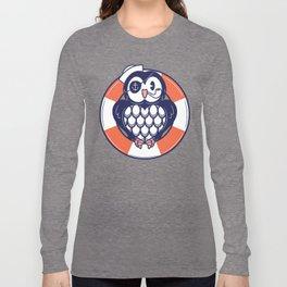 AHOY CAPTAIN HOOTER! Long Sleeve T-shirt
