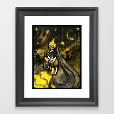 Golden Age of Decadence Framed Art Print