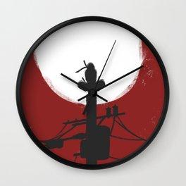 RedMoon Silhouette Wall Clock