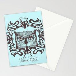 Wisdom Listens Stationery Cards