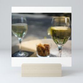 Champagne and Snacks in Paris Mini Art Print