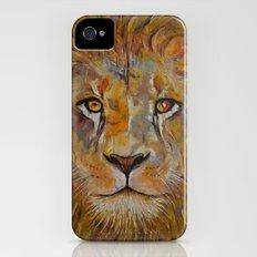 Lion Slim Case iPhone (4, 4s)