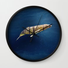 A Whale Dreams of the Forest Wall Clock