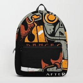 gavin dance after burner logo 2021 Backpack