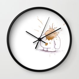 #coffeemonsters 468 Wall Clock