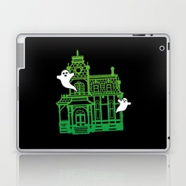 Haunted Victorian House Laptop & iPad Skin