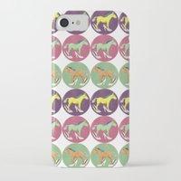 horses iPhone & iPod Cases featuring Horses by Bluetiz