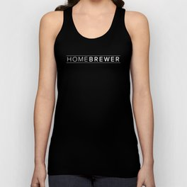 Homebrewer (White) Unisex Tank Top