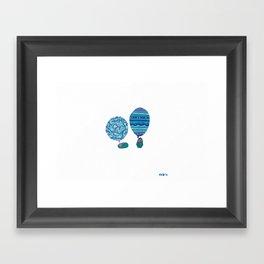 Conversation, XI Framed Art Print