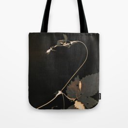 Snakewinder Hops Botanical Lumen Print Tote Bag