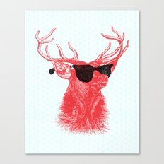 Young Buck. Canvas Print