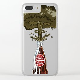 Nuka Cola Clear iPhone Case