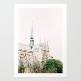 Notre-Dame Cathedral Art Print