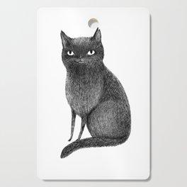 Black Cat Cutting Board