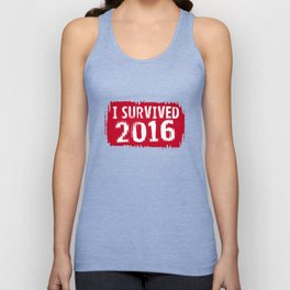 I survived 2016 Unisex Tank Top