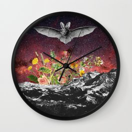 THE BAT Wall Clock