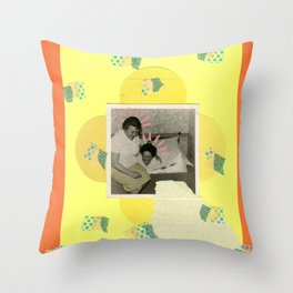 Going Bananas Throw Pillow