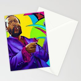 African American Portrait 'The Prince of Soul' Stationery Cards