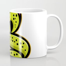 Moray Eel Sports Mascot Coffee Mug