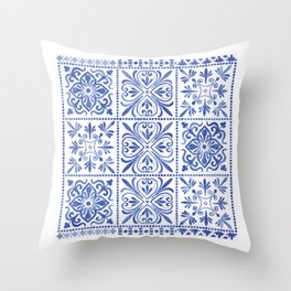 Anthropi Throw Pillow