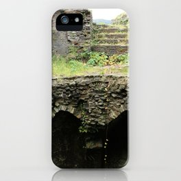 Caerphilly Castle Ruins iPhone Case