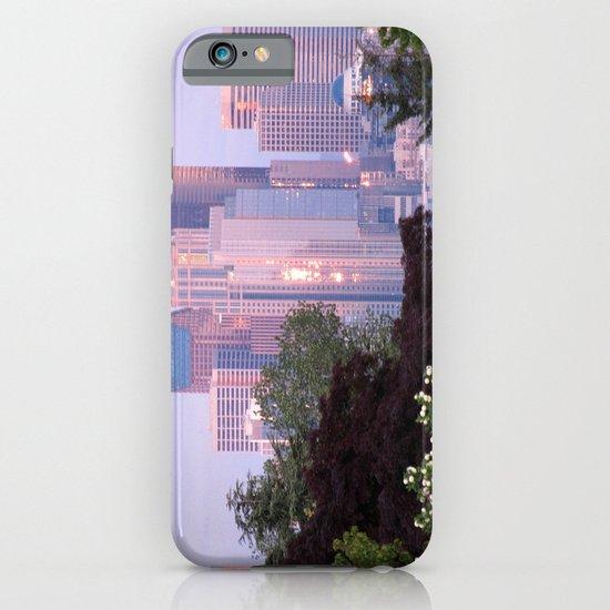 Seattle Glowing • Seattle, Washington iPhone & iPod Case