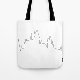 Hogwarts Heartbeat Tote Bag