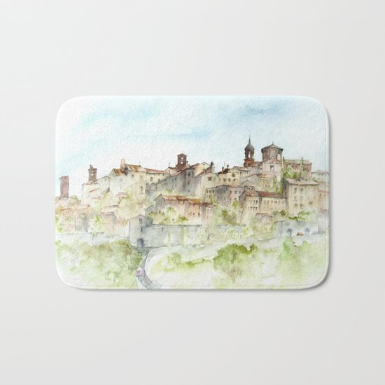 Lucignano, Italy Bath Mat