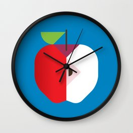 Fruit: Apple Wall Clock