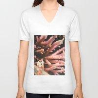 aquarius V-neck T-shirts featuring Aquarius by Djuno Tomsni