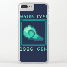 Water Type Clear iPhone Case