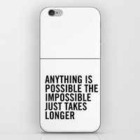 typo iPhone & iPod Skins featuring Typo by giupic