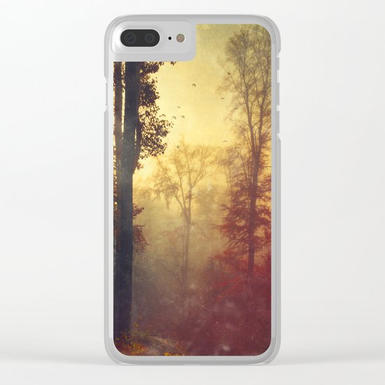 Quite Morning Clear iPhone Case