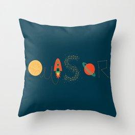 Quasar Throw Pillow