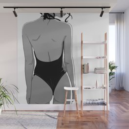 BW Wall Mural