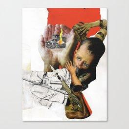 Welfare,Warfare, and Culture Canvas Print
