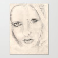 buffy Canvas Prints featuring buffy by als3