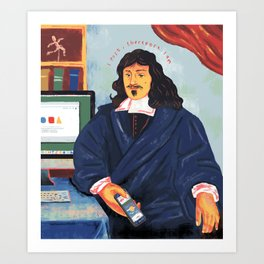 Modern Philosophy Art Print
