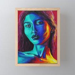 Two Faced Framed Mini Art Print