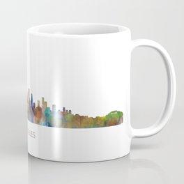Los Angeles City Skyline HQ v1 Coffee Mug