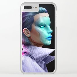 cyberpunk-5th Clear iPhone Case