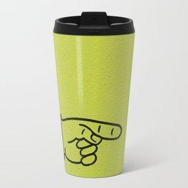 Direction Lime Green Travel Mug