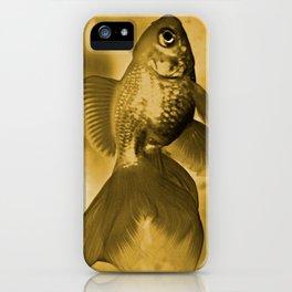 Goldfish iPhone Case