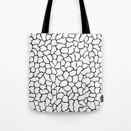 Reflection Pools in Black Pearl Tote Bag